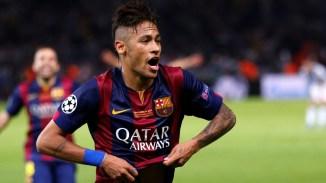 Foto do Jogador do Barcelona Neymar 2017 1600x900